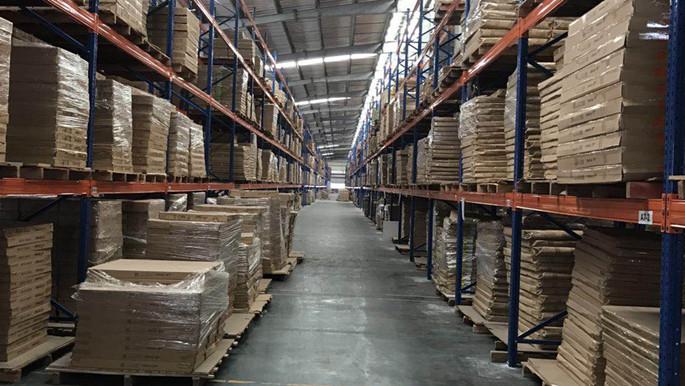重庆家居建材行业重型货架案例