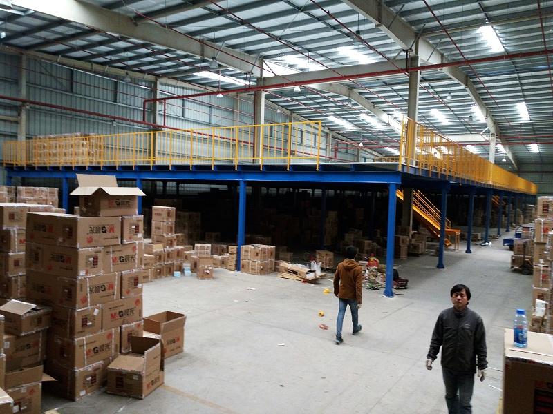 钢平台货架2