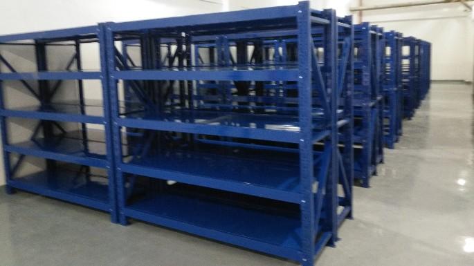 层板货架助力首钢特钢公司案例
