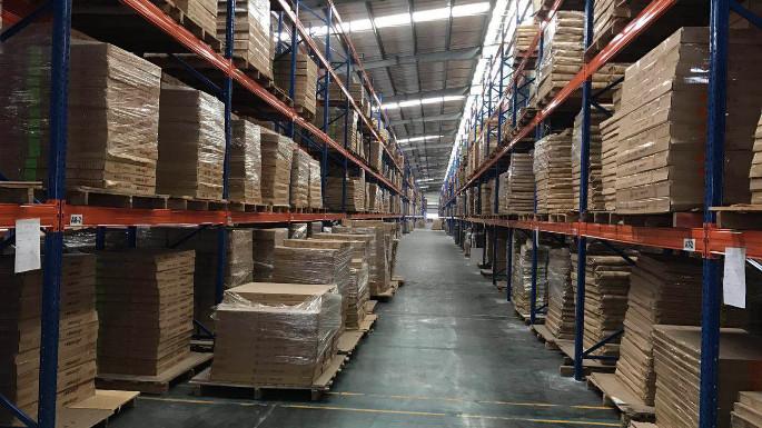 贵州某啤酒公司重型层板货架案例