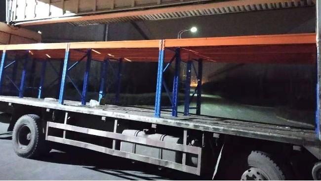 车载式货架助力提高运载效率