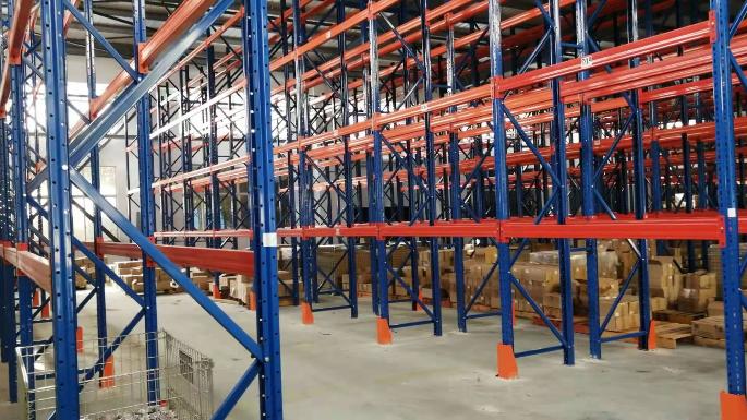 江苏化学品行业双深位货架案例