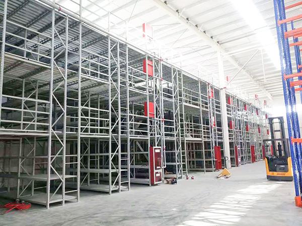 阁楼式货架-贵州人人乐项目