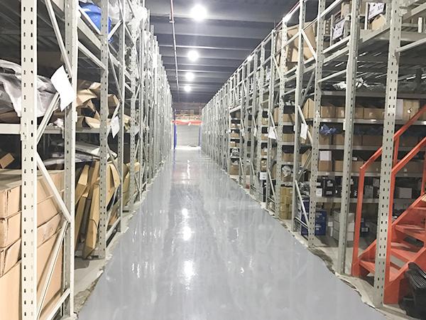阁楼式货架-杭州一山汽配
