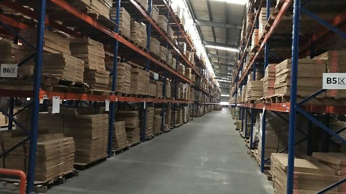 亳州医药公司层板货架案例