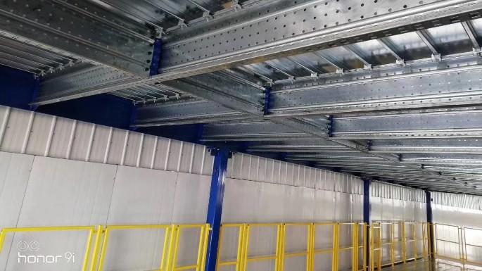 食品行业钢平台-认准国德货架