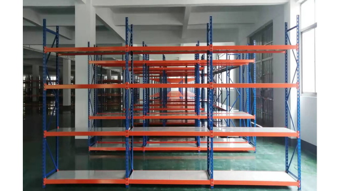 化工行业仓库货架