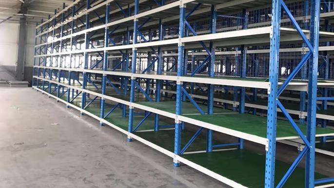 陕西煤矿业层板货架案例