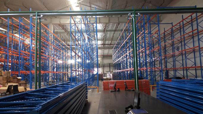 物流行业重型货架案例