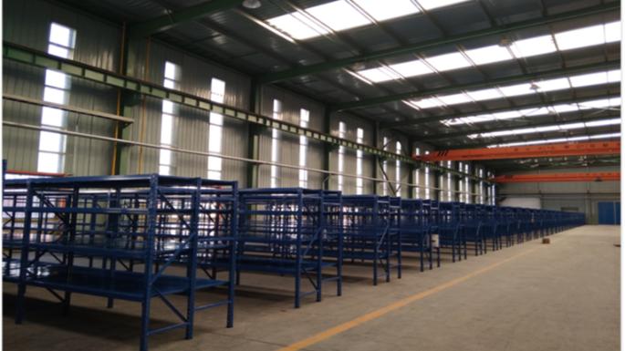 扬州电力行业层板货架案例