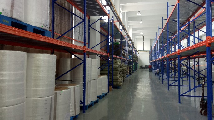 南京某电机公司重型货架案例